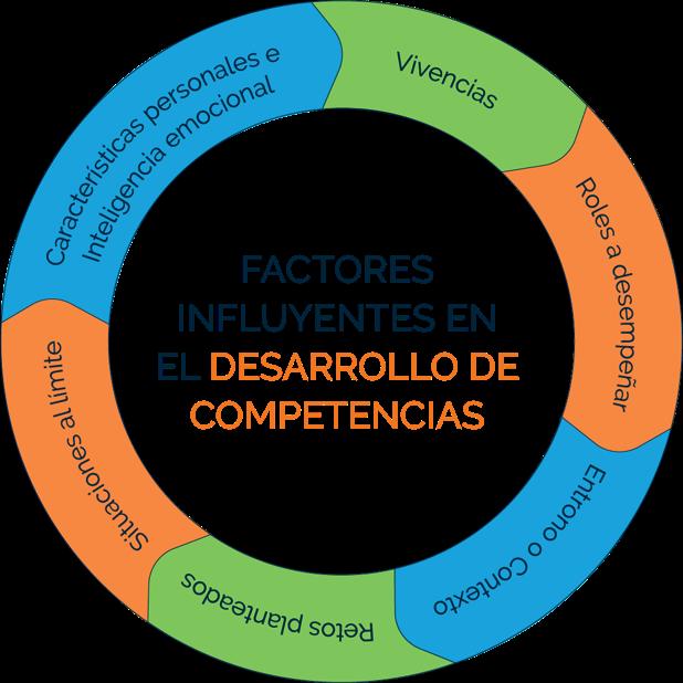 Factores influyentes en el desarrollo de competencias