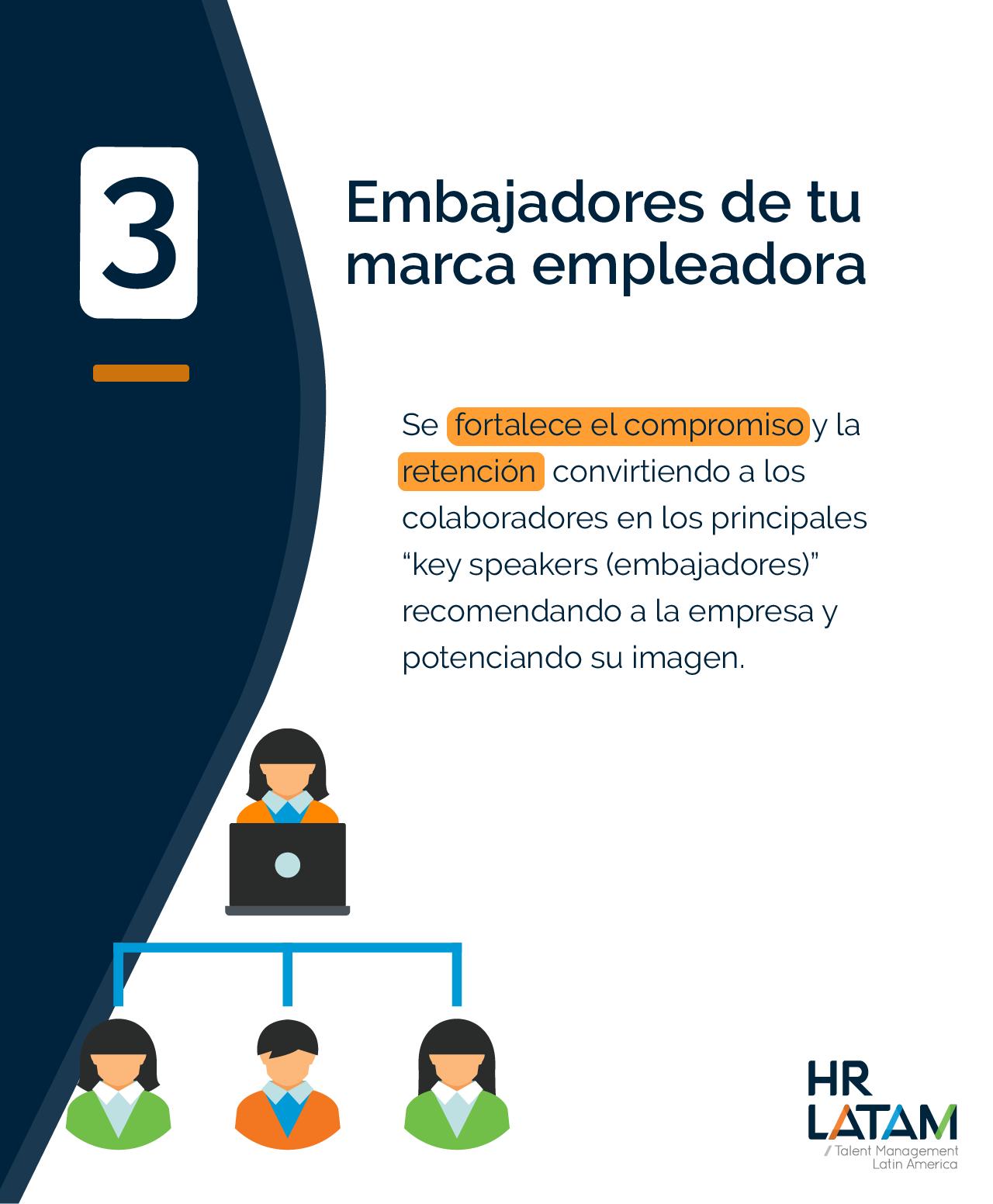 Embajadores de tu marca empleadora (deseabilidad de empleo)