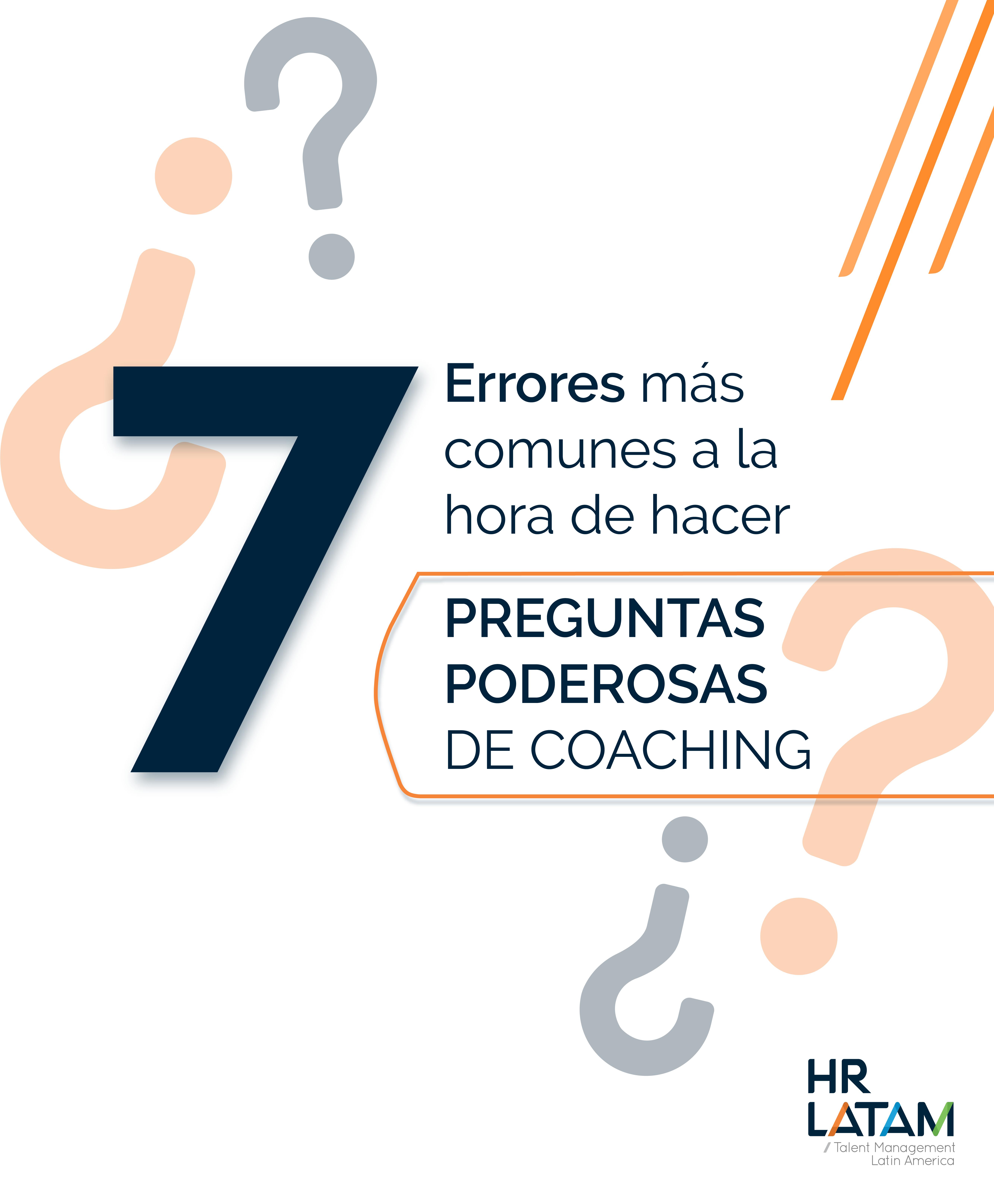 7 errores más comunes a la hora de hacer preguntas poderosas de coaching