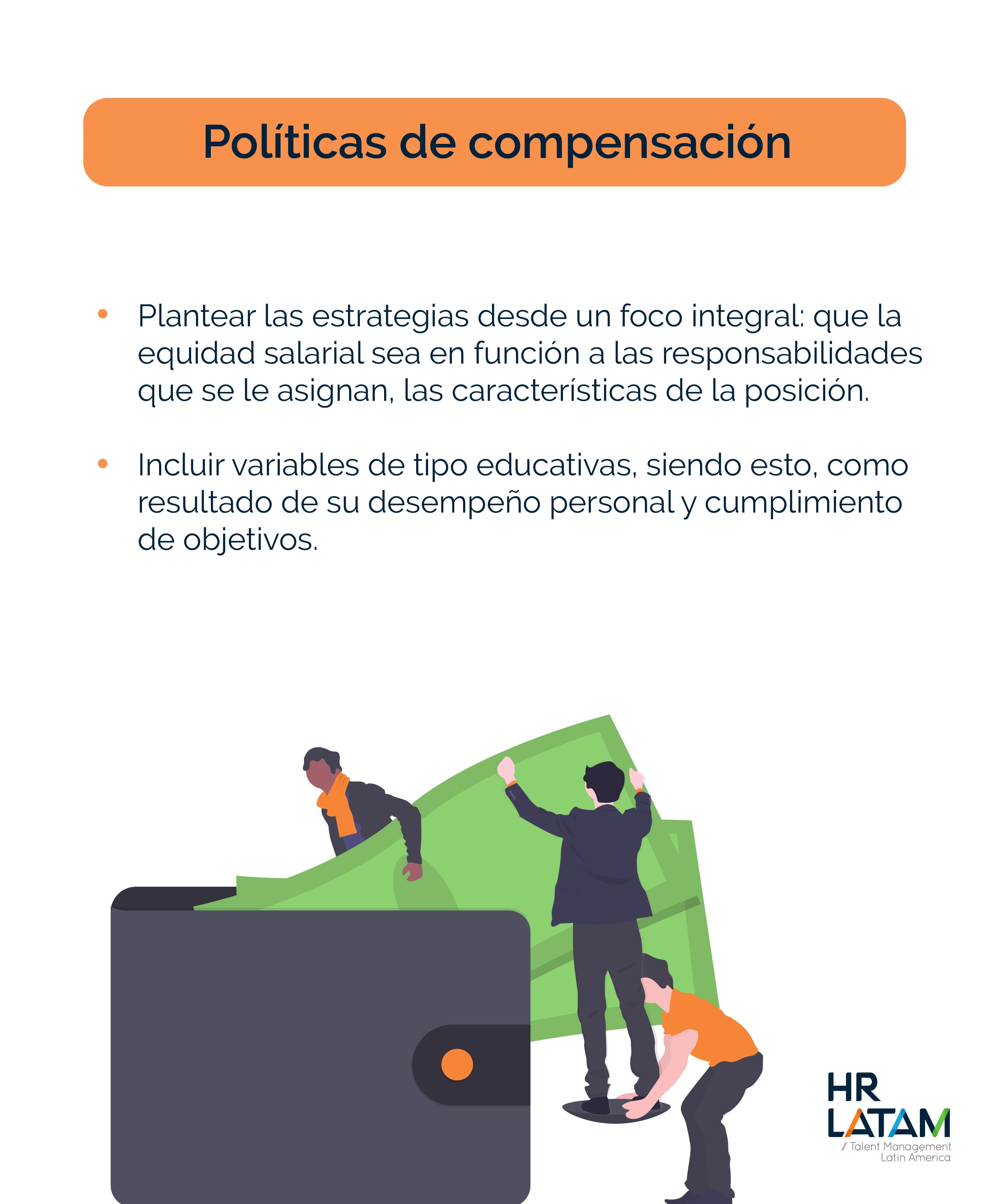 Políticas de compensación