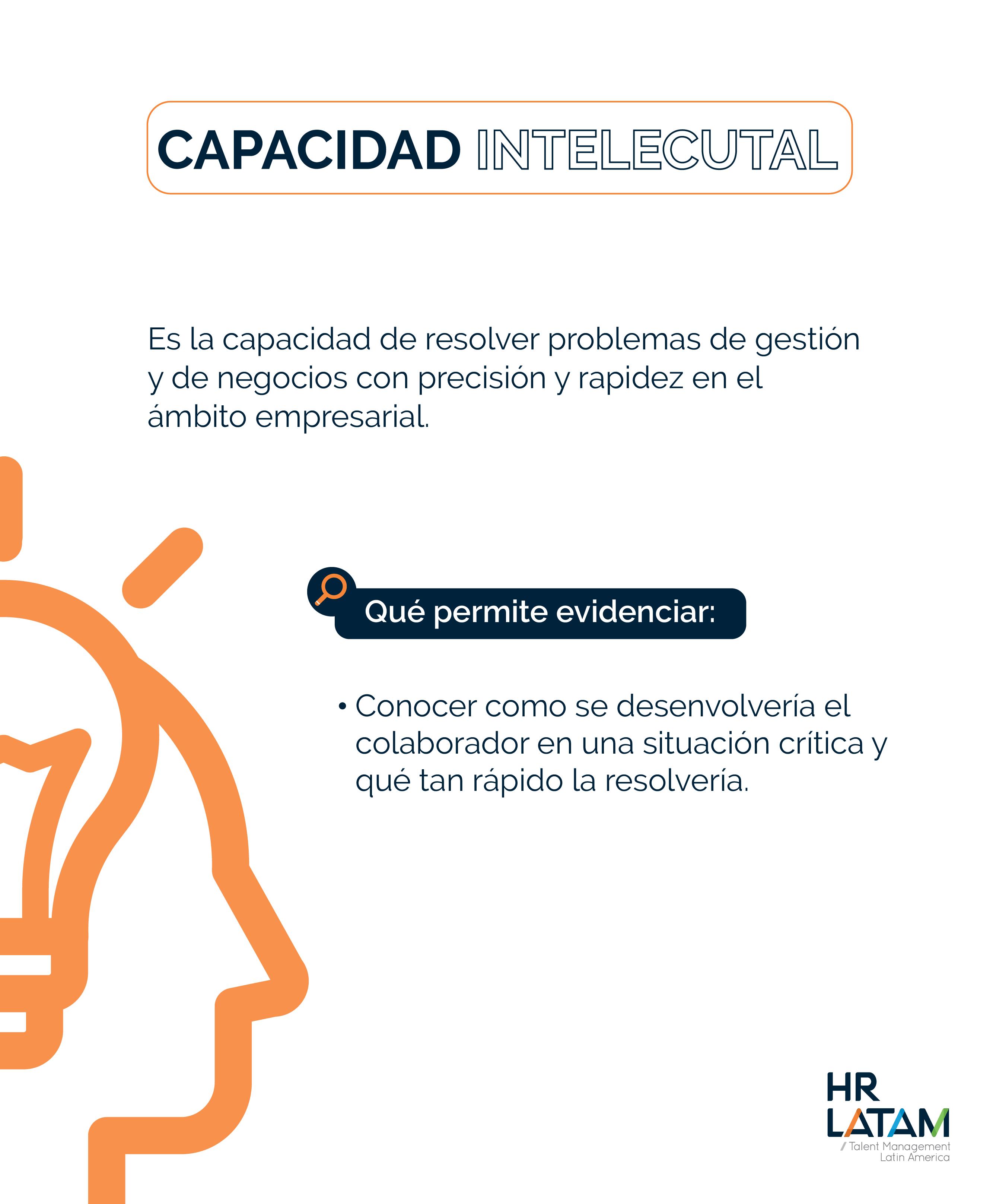Capacidad intelectual del potencial humano